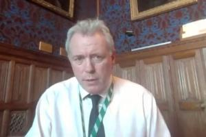 James Sunderland MP answers constituent's questions on a Facebook Live Q&A session from the Houses of Parliament.