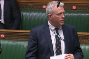 James Sunderland MP speaking in the House of Commons, 23 Sep 2020