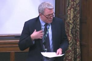 James Sunderland MP speaking in Westminster Hall, 2 Dec 2020, Homelessness